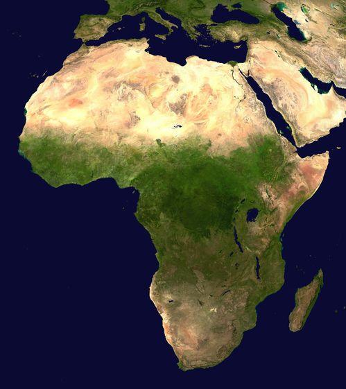 Mapa-Satelital-de-Africa