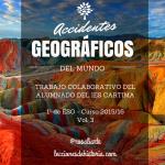 Accidentes geográficos del mundo Volumen 3