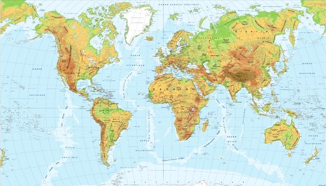 Montes Altai Mapa Fisico.Mapas Fisicos Para 3º De Eso Lecciones De Historia