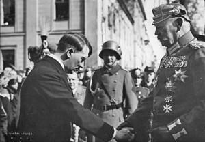 Tag von Potsdam, Adolf Hitler, Paul v. Hindenburg