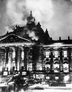 Reichstag incendiado