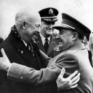 Franco_presidedente_Eisenhower1