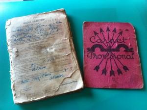 Documentos aportados por la alumna Patricia Escudero