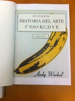 Libro de Historia del Arte de 4º de ESO, IES Las Lagunas