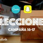 Analizando la política en clase con Canva y Snapchat