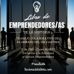 Libro de emprendedores/as con Book Creator