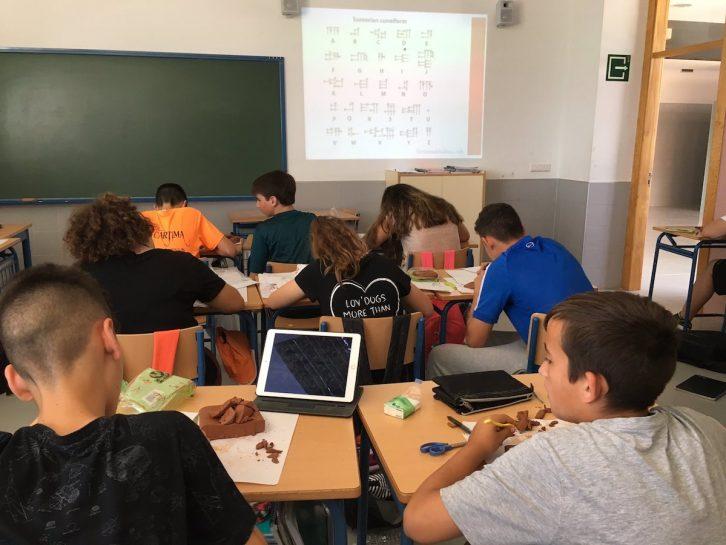1eso aprender sobre mesopotamia con tablillas cuneiformes for Casas con tablillas