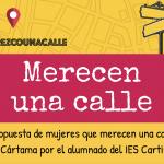 Cártama pondrá cuatro calles de mujeres gracias a #merezcounacalle