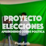 Proyecto Elecciones para aprender sobre política