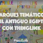 Parques temáticos del Antiguo Egipto con Thinglink