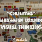 """Chuletas"" en examen usando Visual Thinking"
