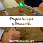Proyecto de Egipto y Mesopotamia