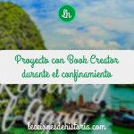 Proyecto con Book Creator durante el confinamiento